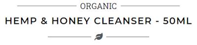 hemp and honey cleanser, med i konoplja, konoplja, med, cleanser, skidanje šminke, akne, prištići, kako se riješiti prištića, acne, how to get rid of acne