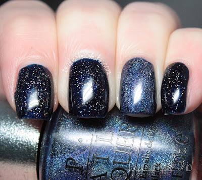 navy wedding nails rimmel midnight blue opi ds glamour china glaze fairy dust