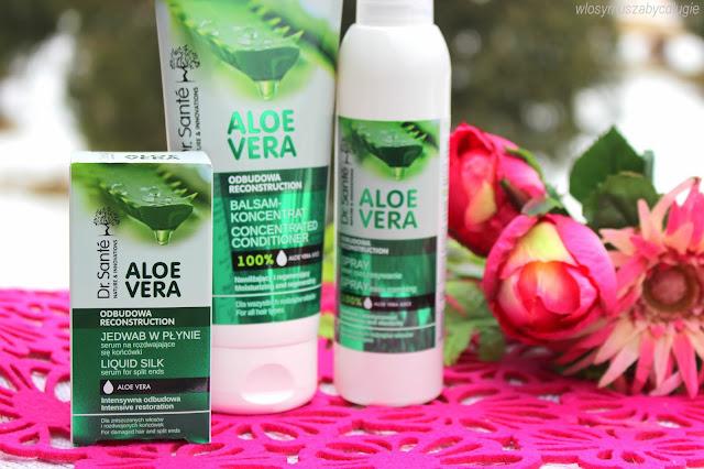 Elfa Pharm – Dr. Sante Aloe Vera – Aloesowe kosmetyki do włosów