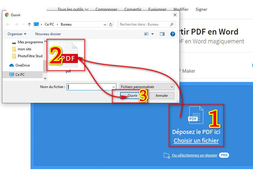 افضل موقع لتحويل ملفات Pdf الى Word بسهولة يدعم العربية Pdf