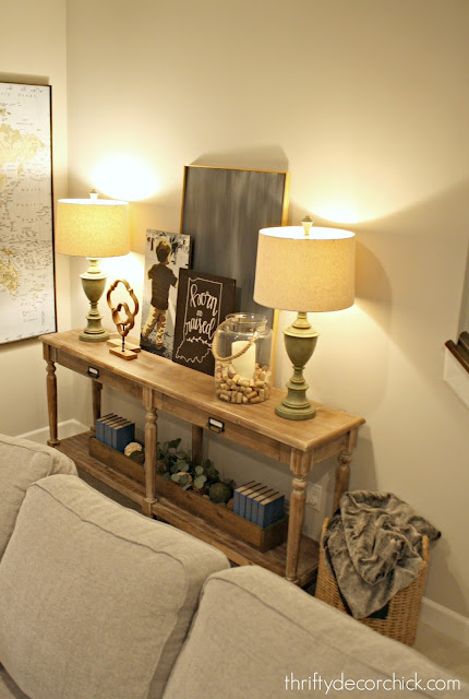 Everett console table from World Market