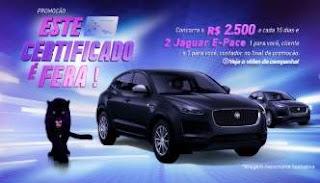 Cadastrar Promoção Este Certificado É Fera Serasa Experian 2 Jaguar E-Pace