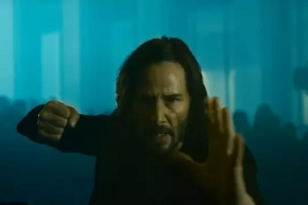 Matrix 4: the first official images before the trailer
