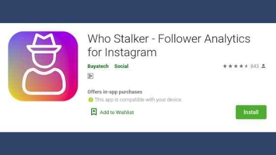 aplikasi melihat stalker ig