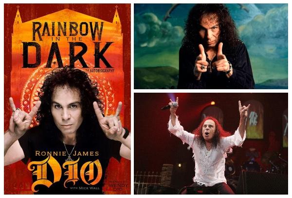 """""""Rainbow In The Dark"""" autobiografía de Ronnie James Dio."""