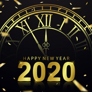 happy new year 2020 clock images download