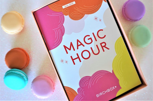 Birchbox Magic Hour juin menu