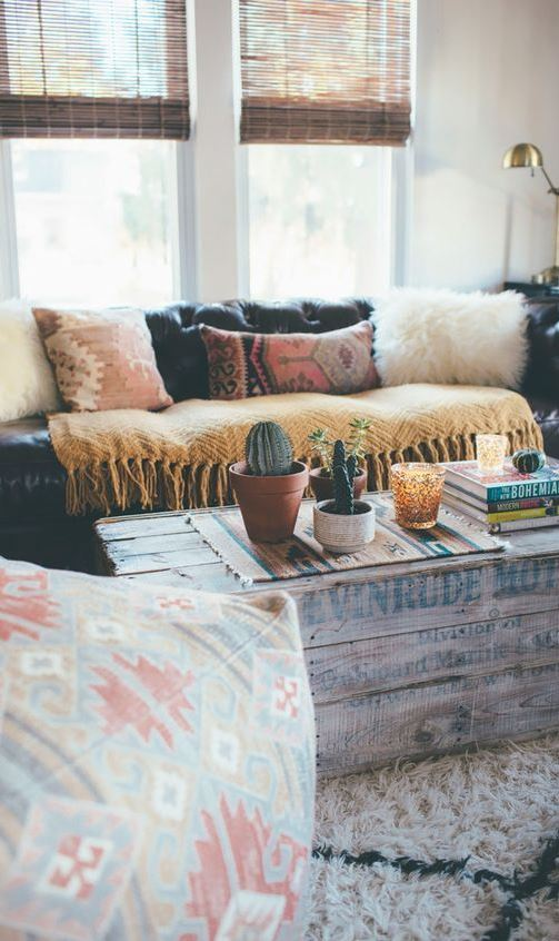 8 dreamy bohemian spaces that will make you