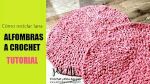 Cómo Tejer Alfombra Redonda con Lana Reciclada ✅ | Tutorial Crochet