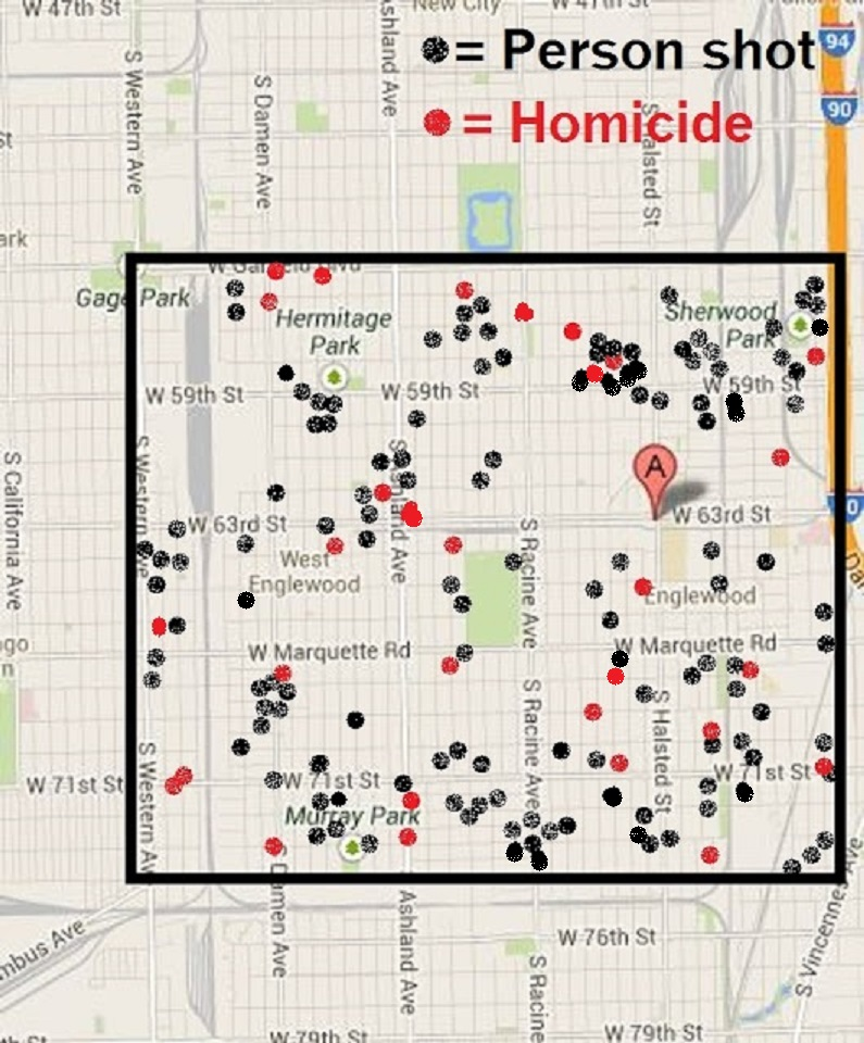Crime in Chicago 2017: August 2013