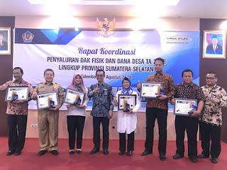 Kabupaten OKI Raih Penghargaan Pengelolaan Dana Desa Terbaik