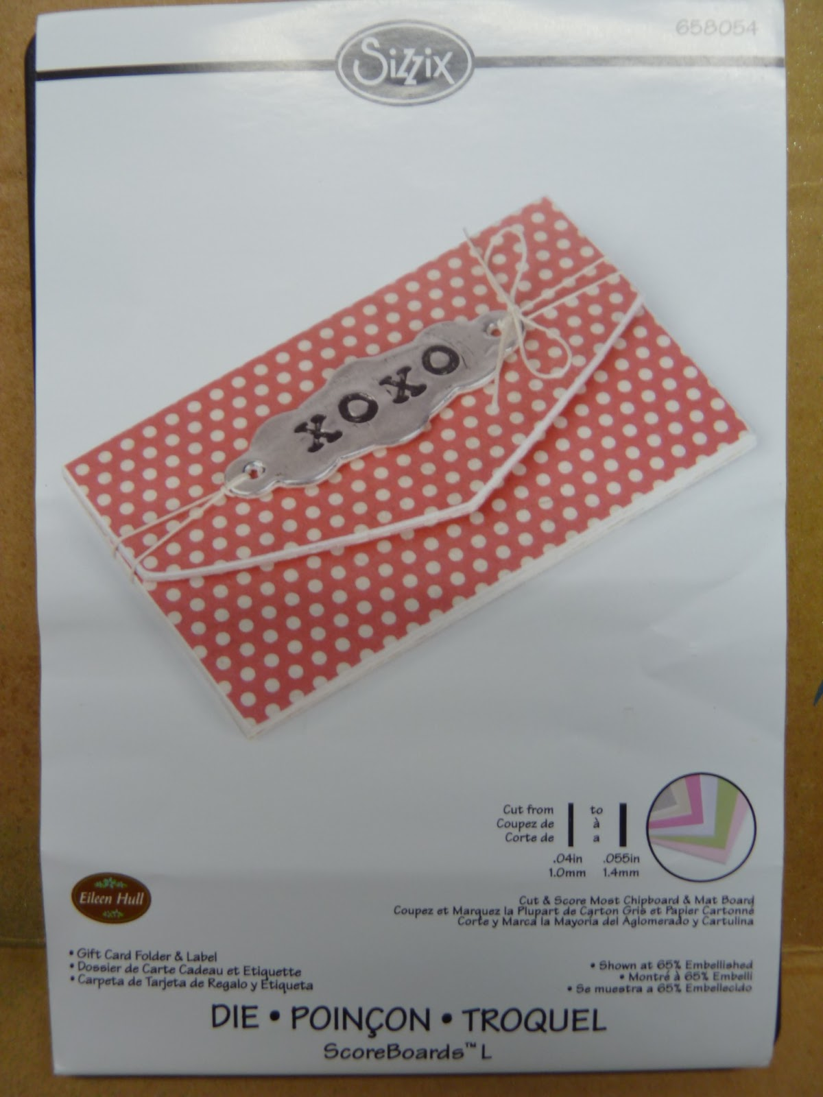 Crafting Ideas From Sizzix Uk Gift Card Wallet
