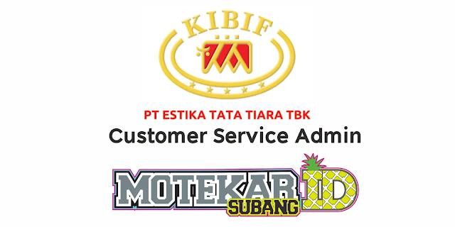 Lowongan Kerja PT Estika Tata Tiara Tbk Terbaru 2021 - Motekar Subang