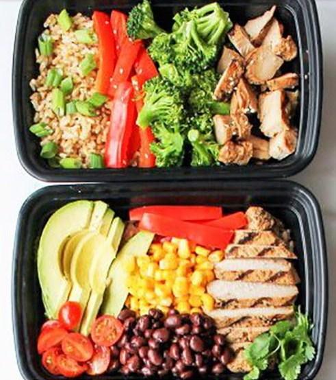 Chicken Meal Prep Bowls 5 Ways