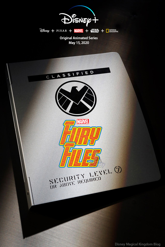Marvel's Fury Files, Animated Series, Disney+, Agents of Shield, Avengers, poster