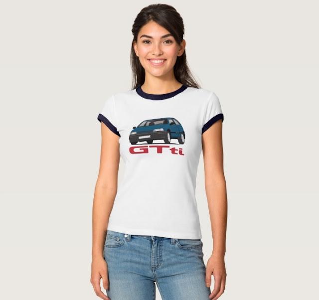 Daihatsu Charade GTti gift shirts