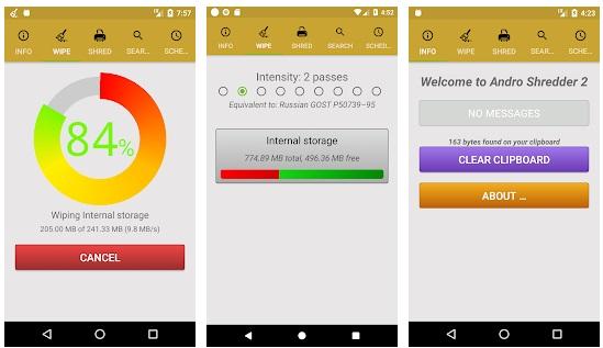 تطبيقات لحذف الملفات والصور نهائيا من هاتفك بدون استرجاع