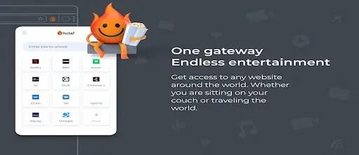 برنامج Hola Free VPN Proxy  لفتح المواقع المحجوبة