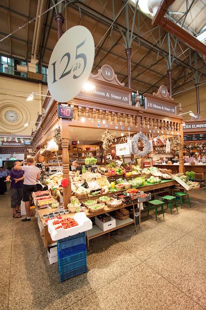 Mercato Saluhall-Quartiere di Ostermalm-Stoccolma