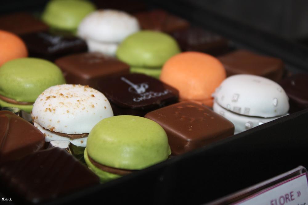 coffret Flore Mini-macaronia et chocolat
