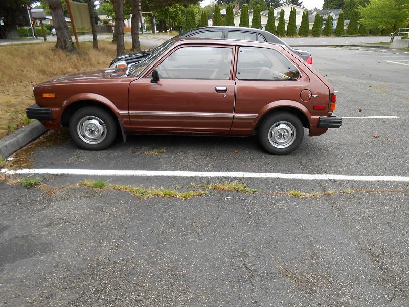 Seattle's Parked Cars: 1980 Honda Civic 1300