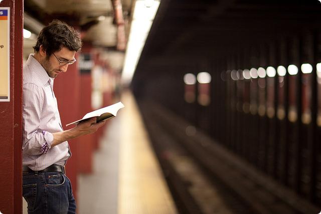 Ler no metrô