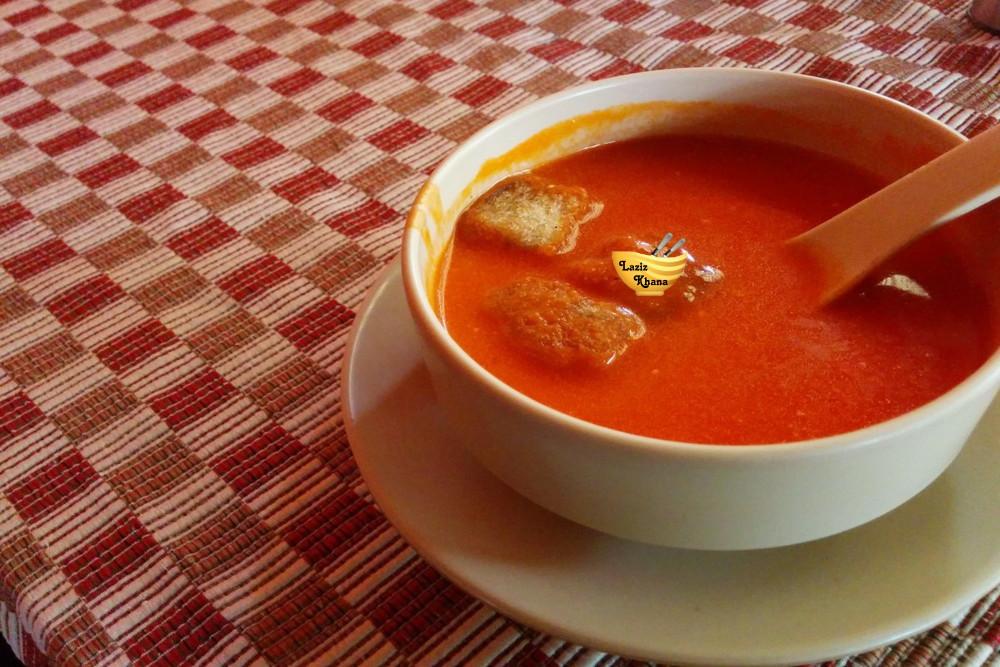 Instant Tomato Soup Recipe in Hindi