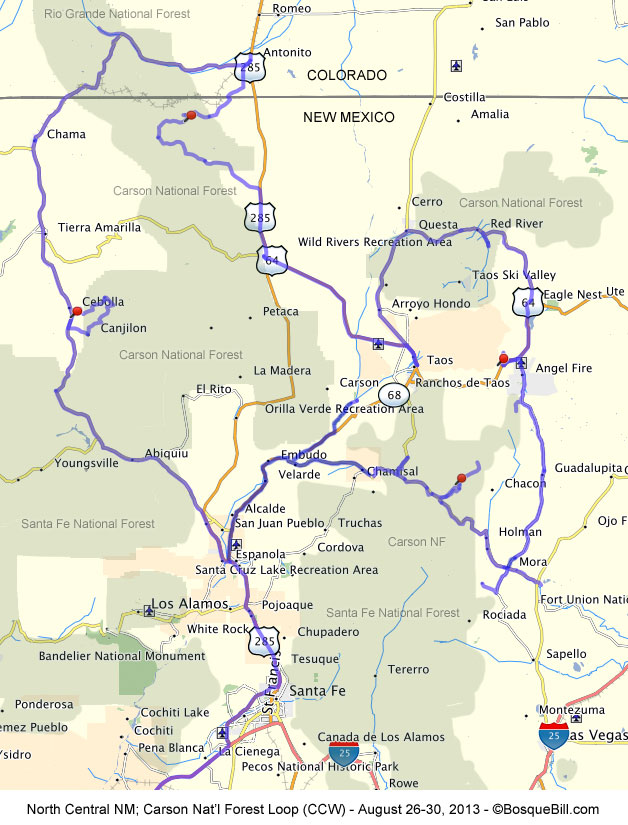 Maps Of Northern New Mexico : northern, mexico, Northern, Mexico, World, Atlas