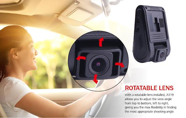 avto kamera z lečo ki se jo da nastavit