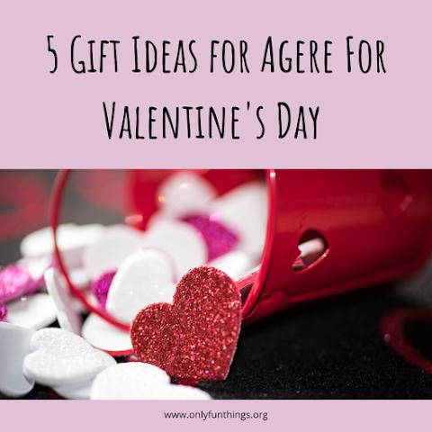 5 Age Regression Gift Ideas for Valentine's Day Under $10