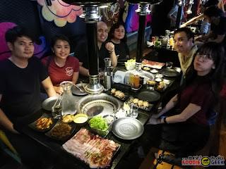Geonbae Modern Korean Bar & Grill, Unlimited Samgyupsal, Sashimi and More