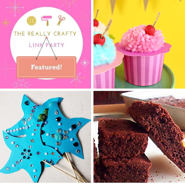 The Really Crafty Link Party #177 featured posts