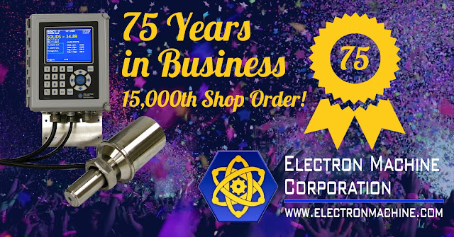 75th Anniversary and 15,000th Shop Order