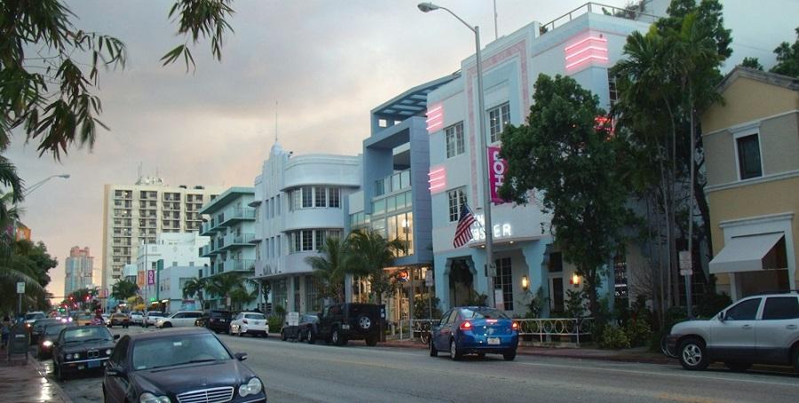 Art Déco por las calles de Miami Beach