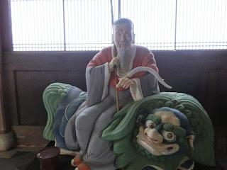 京都:萬福寺隠元隆琦像
