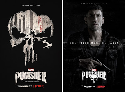 Marvel's The Punisher Television Series Season 1 Posters by Netflix