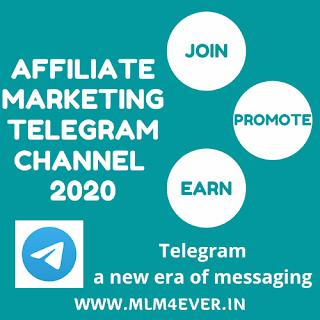 Affiliate Marketing Telegram Channel Link