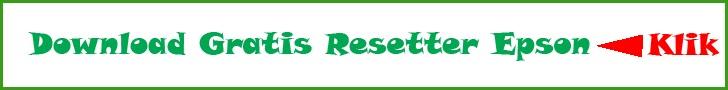 Resetter Epson Gratis