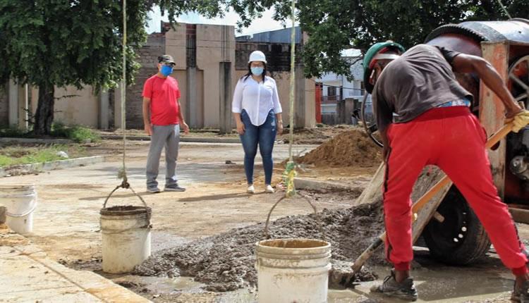 hoyennoticia.com, Alcalde de Maicao inspeccionó obras reiniciadas en la pandemia