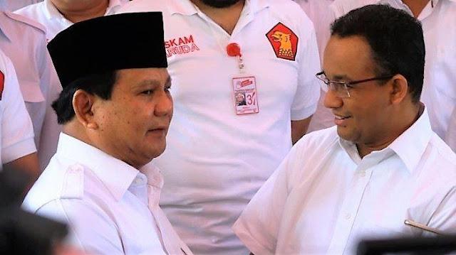 Prabowo Minta Gerindra DKI Kritisi Anies, Demi Pilpres 2024