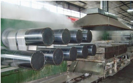 Polyester fiber manufacturing process