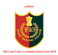 WB Lady Police Constable Admit Card