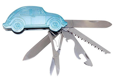 Volkswagen Beetle Pocket Knife