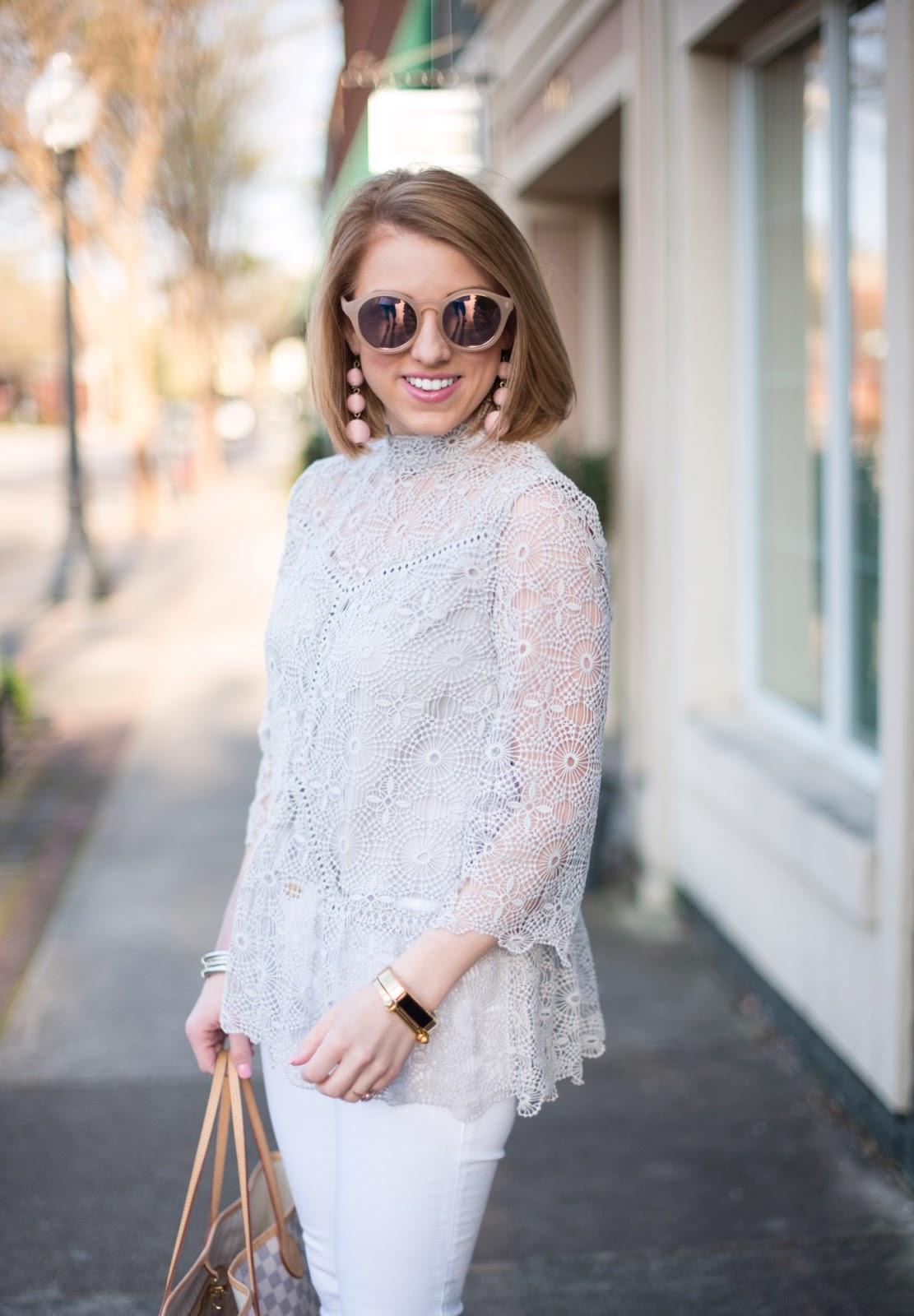 Chicwish The Art of Crochet Top - Something Delightful Blog