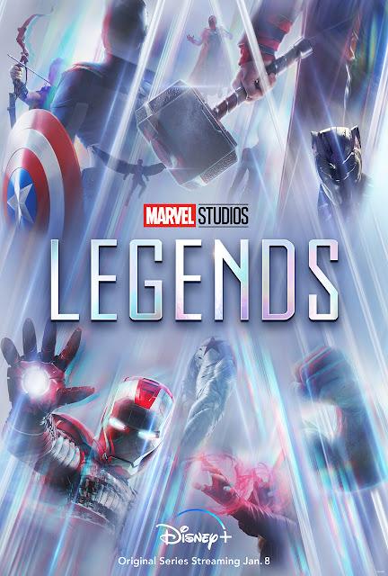 Marvel Studios Legends, MCU, Disney Plus