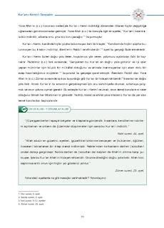 8. Sınıf Kuranı Kerim Ders Kitabı Cevapları Dikey Yayınları Sayfa 11