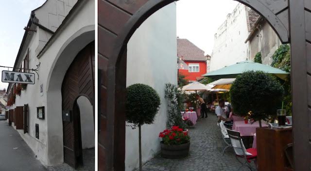Max Restaurant, Sibiu - Außenansicht und Terrasse
