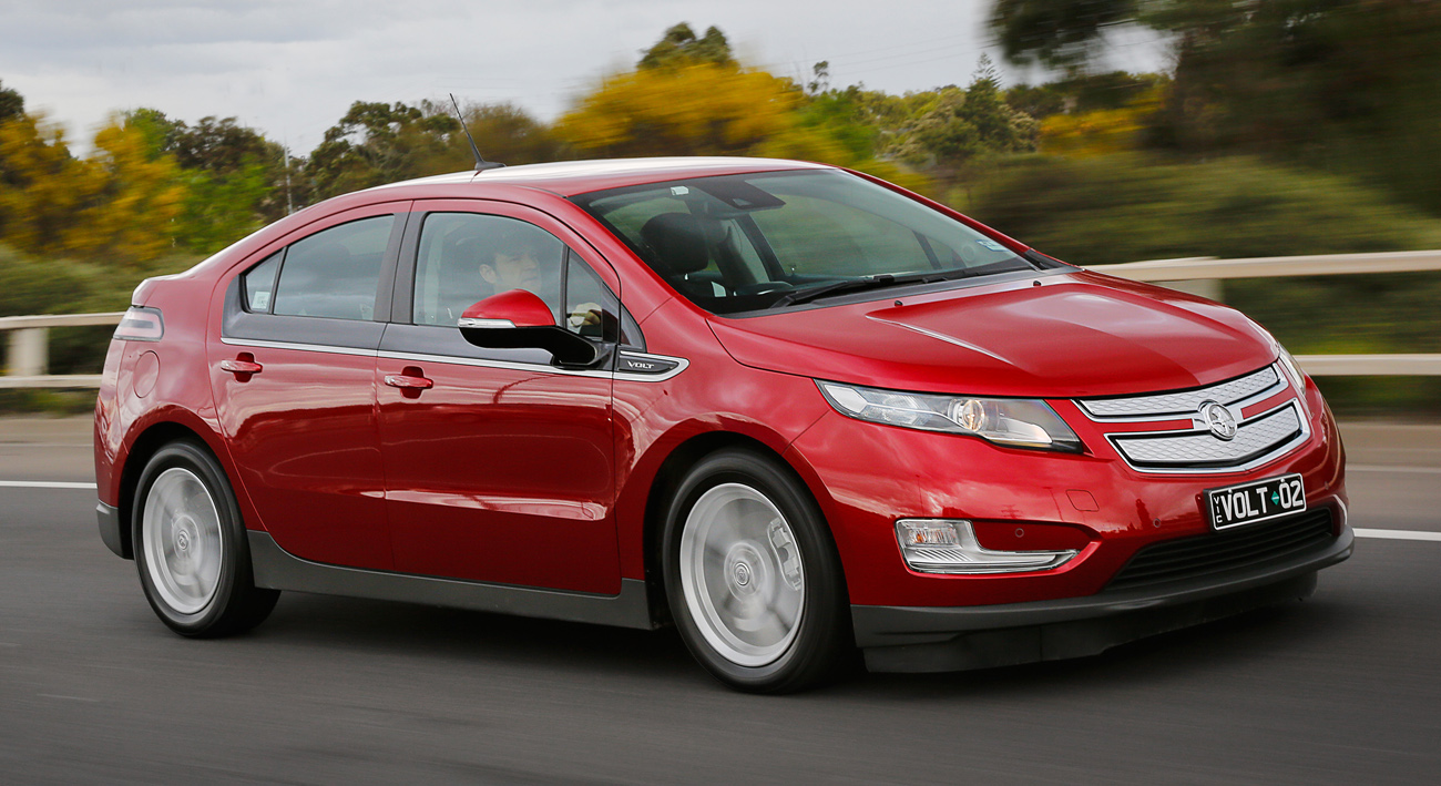 A Week with the Holden Volt Extended Range Electric Vehicle