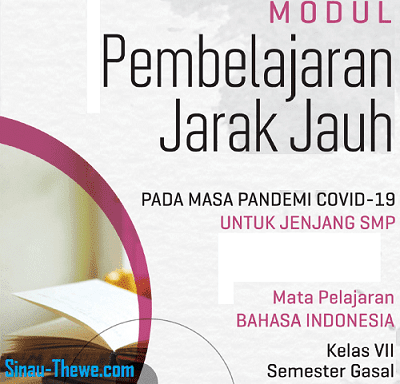 Contoh soal bahasa indonesia kelas 9 lengkap dengan kunci jawabannya. Modul Pjj Bahasa Indonesia Smp Mts Kelas 7 8 9 Semester 1 2 2020 2021 Sinau Thewe Com