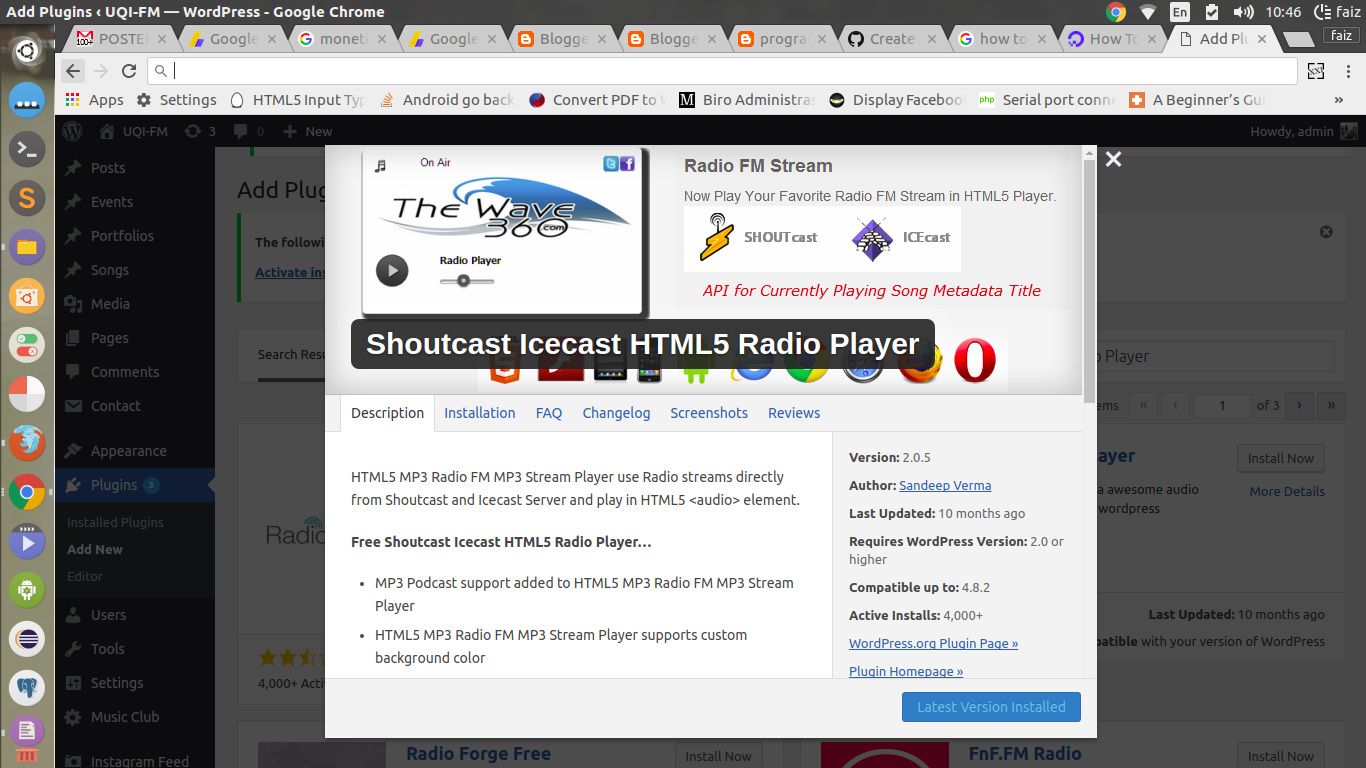 Faiz's Blog: How To Make Radio Online